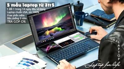 4 mẫu laptop văn phòng giá 4 triệu |BH 12 tháng