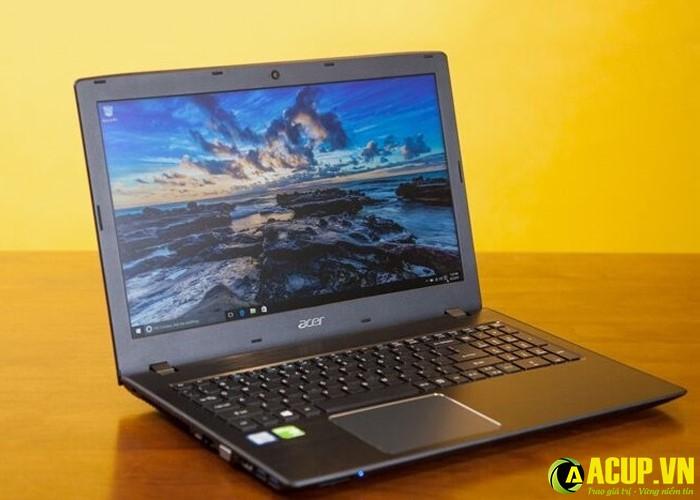 Laptop Acer Aspire E5 thiết kế đơn giản mà hiện đại