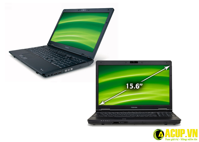 Laptop Toshiba vỏ khung chắc chắn