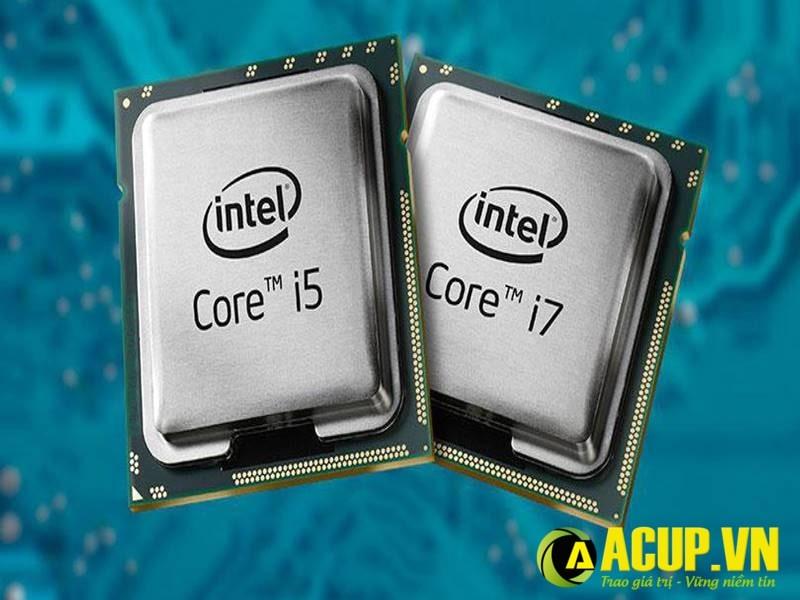 So sánh core i5 và core i7